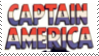 Captain America Stamp I by flannel-sharks