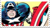 Captain America Stamp II by flannel-sharks
