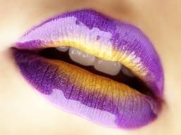 purple lips by quake455