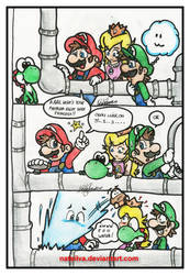 Mario: Pipe Problems by NatSilva