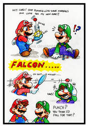 Mario: Paddle Punch by NatSilva
