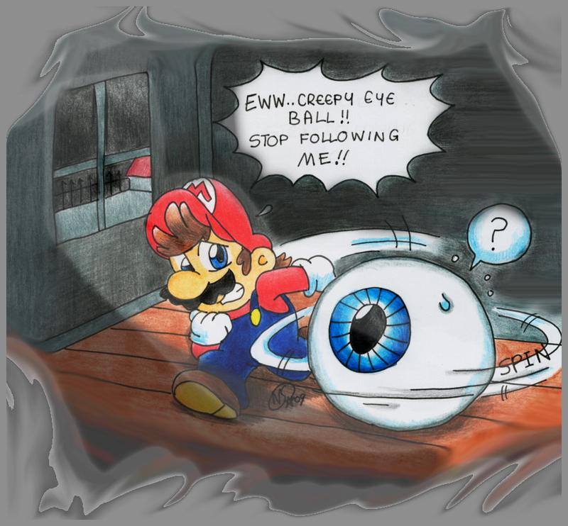Mario: Eye Spy.. by NatSilva