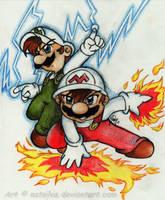 Mario: Forces of destruction by NatSilva