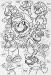 Mario- Evolution by NatSilva