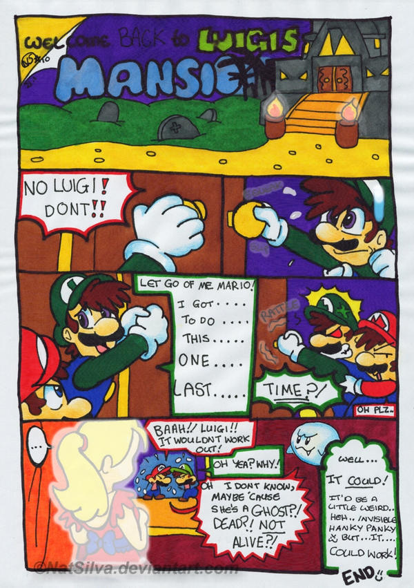 Welcome Back To Luigis Mansion By Natsilva On Deviantart