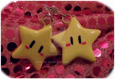 Custom star earrings