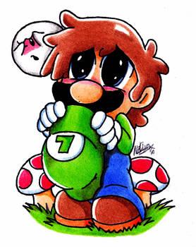 Chibi Luigi