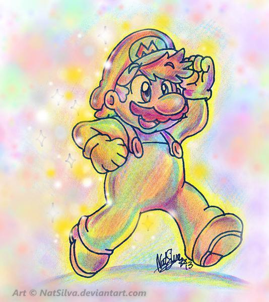 Mario: Star Struck by NatSilva