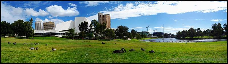 Elder Park, Adelaide pano