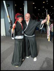 Avcon 2013-Renji and Ikkaku- Bleach by NatSilva