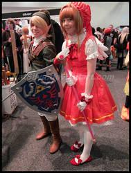 Avcon 2013- Link and Sakura by NatSilva