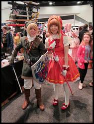 Avcon 2013- Link and Sakura 2 by NatSilva