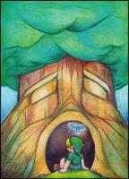 The Great Deku Tree by NatSilva