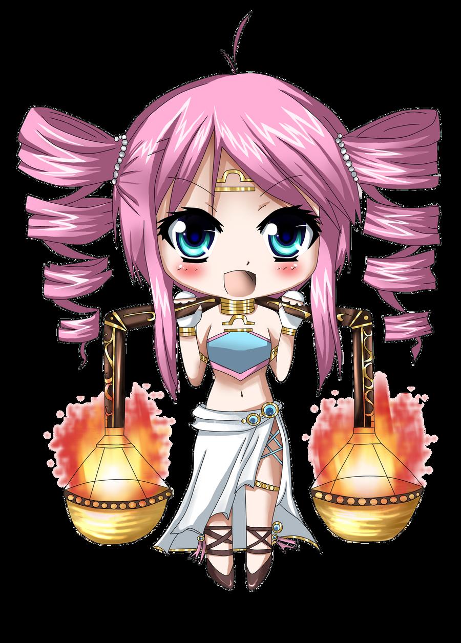 Anime Characters Zodiac Signs Libra : Chibi libra by pandora on deviantart