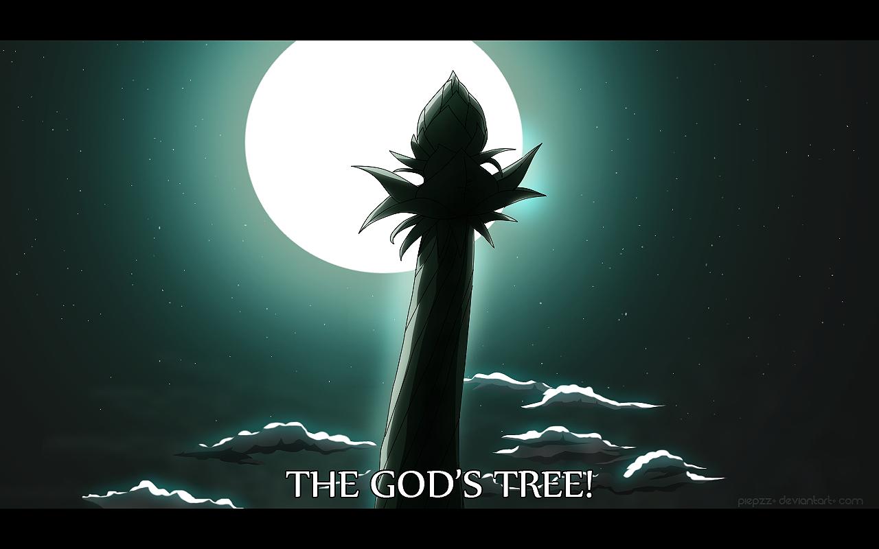 World of Argane Idriss The God Tree by SerelyArtworks on DeviantArt