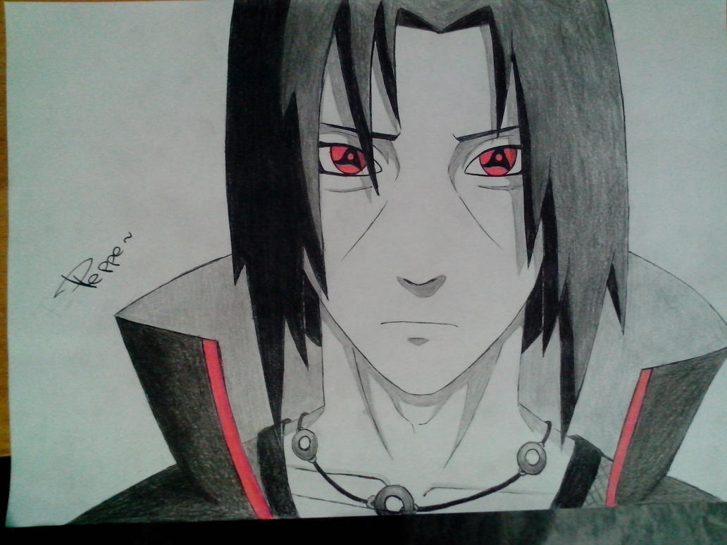Draw Itachi Coloring Pages 70 For Coloring Pages Online With Itachi