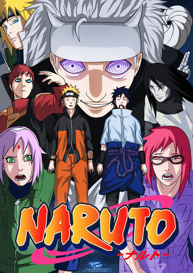 naruto volume 69 fake cover by piepzz