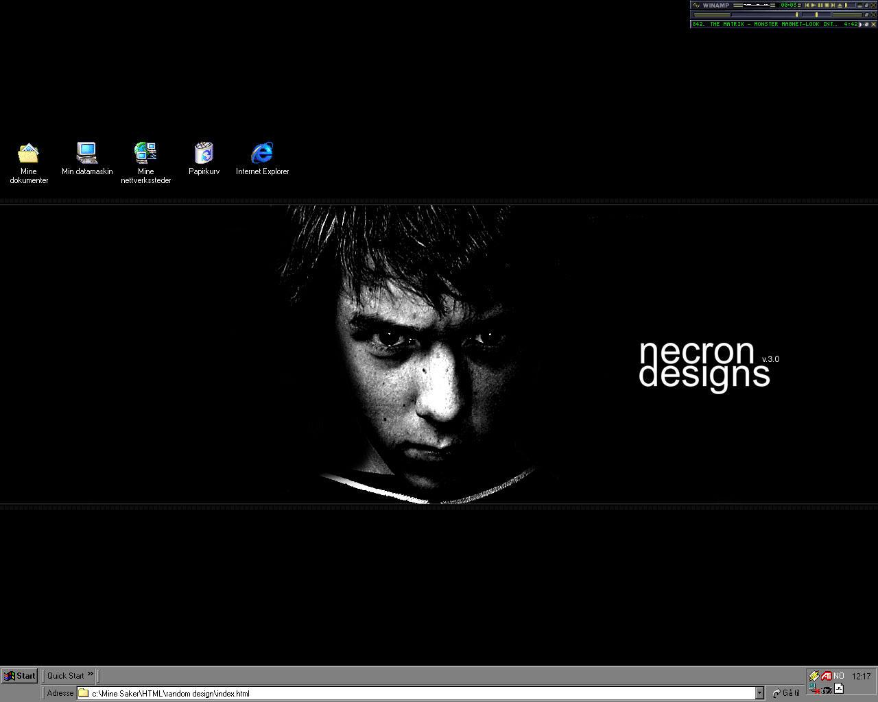 Hang Over Psycho Desktop by necron