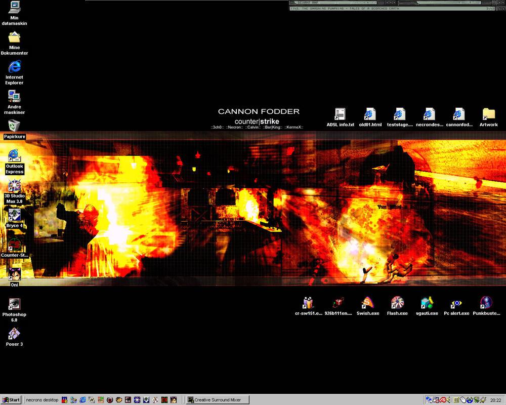 Necrons Bitchin Desktop by necron