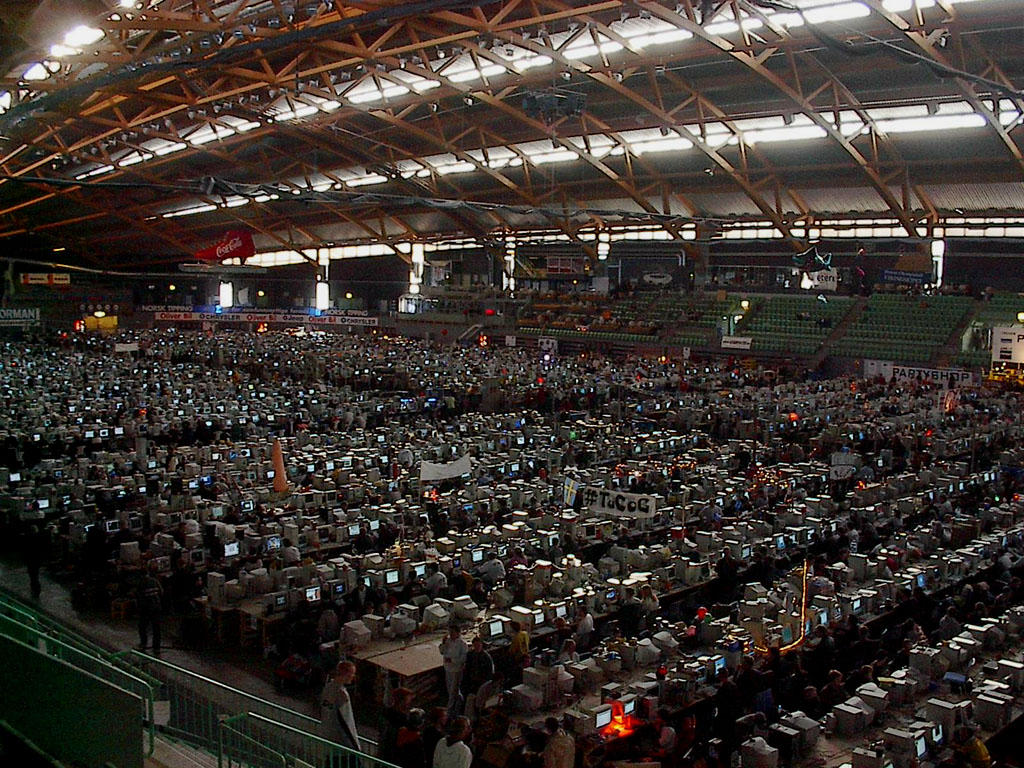 Worlds Largest LAN Party by necron