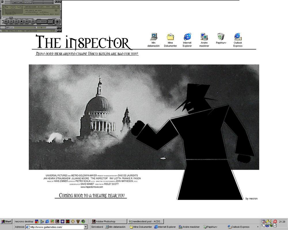 The Inspector Desktop by necron