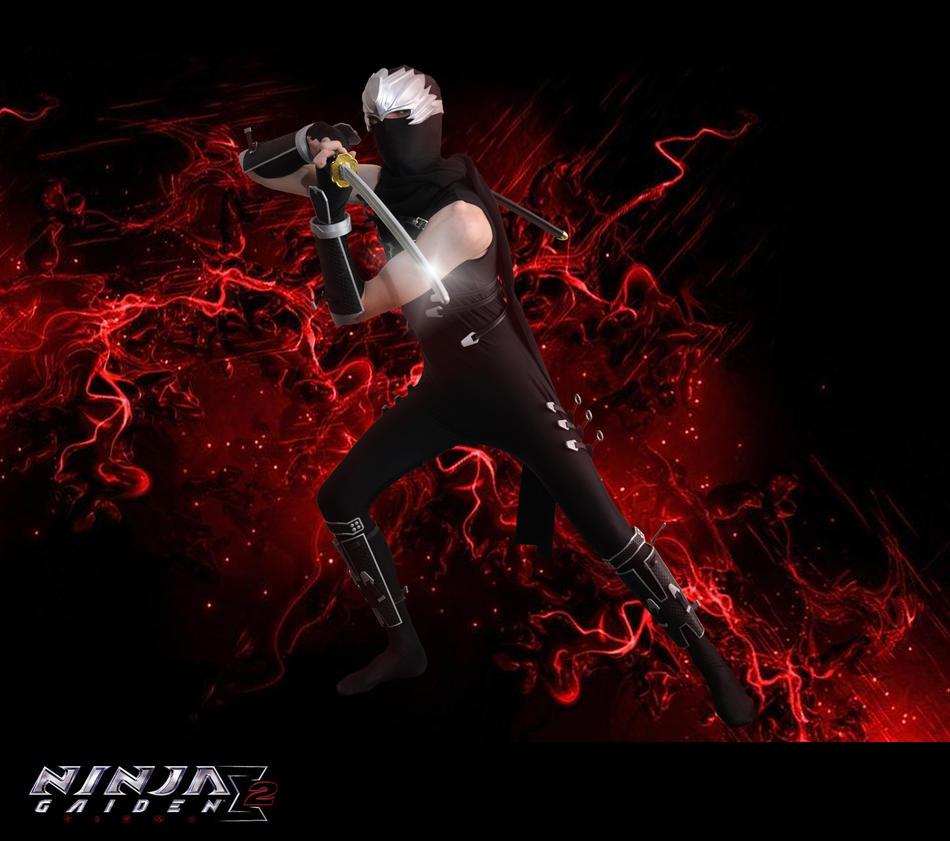 ninja gaiden cosplay by RikRedwolf