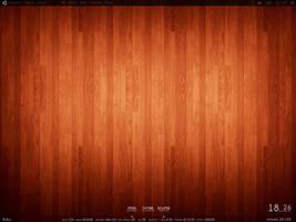 Wooden floor September desktop