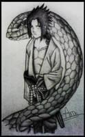 Sasuke by Andrew-Sketches