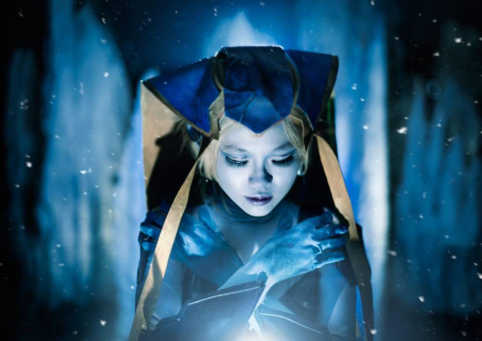 FFVIII Shiva-- Frozen in Ice by Aquarina12