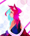 Kitsune by FerventlyDrawW