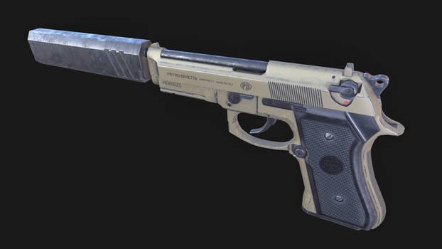 Pietro Beretta 92 Handgun Pistol