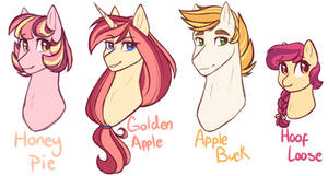 {Next Gen}~ Apple Family