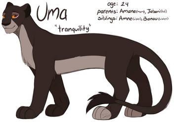 {OC}~ Uma by PurpleGrim40