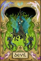 #015 - The Devil by InsaneSpyro