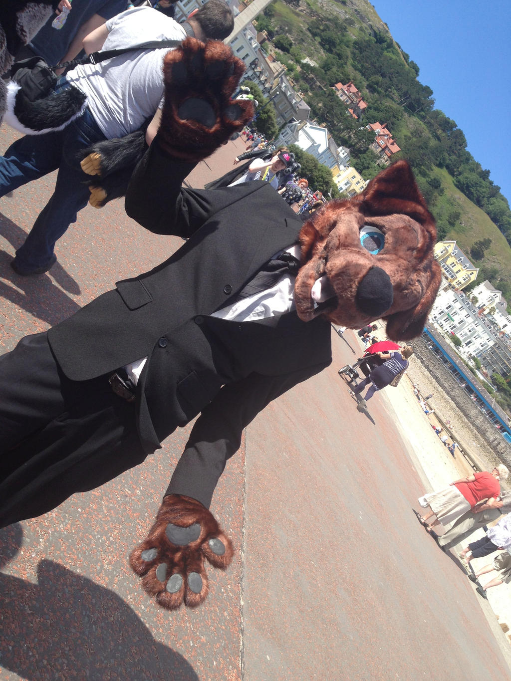 llandudno fur meet july 2014 slanty shanty by