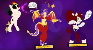 Dark's Amiibo Collection (Ex1 and 2 - Shantae)