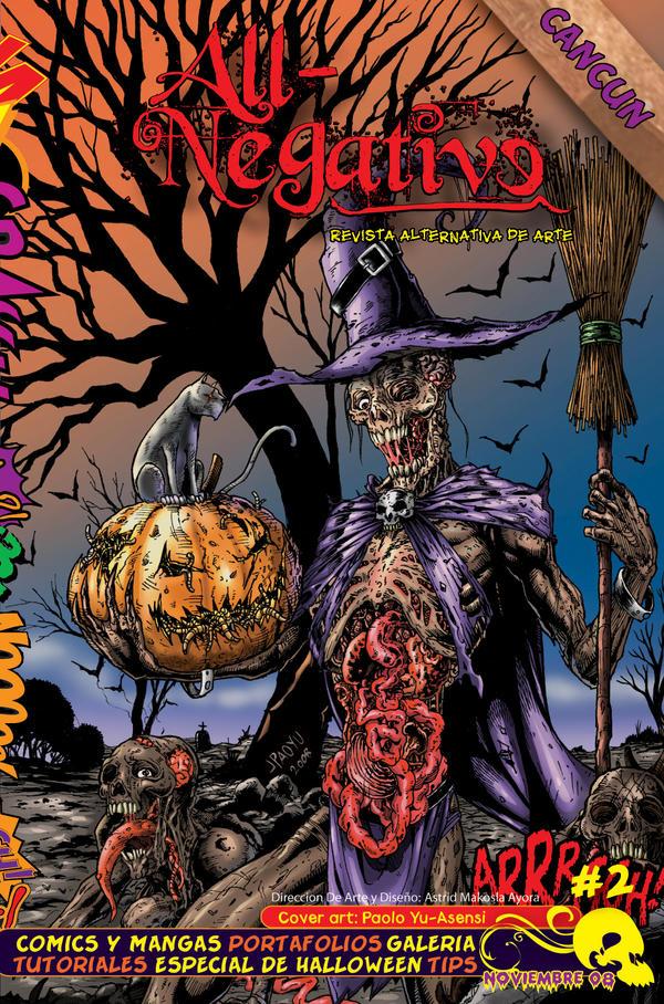 Halloween Yu Asensi by AllNegative