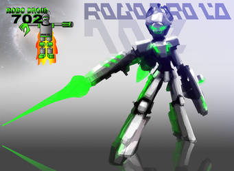 RoboDroid 702 Quick Concept Sketch by Hypergon
