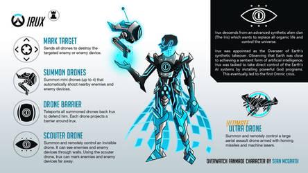Irux: The final boss of Overwatch (hero concept)