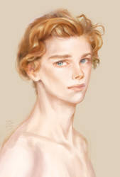 Redhead kid by kydest