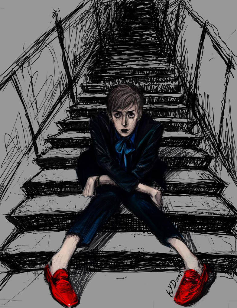 BOY IN RED SHOES by kydest