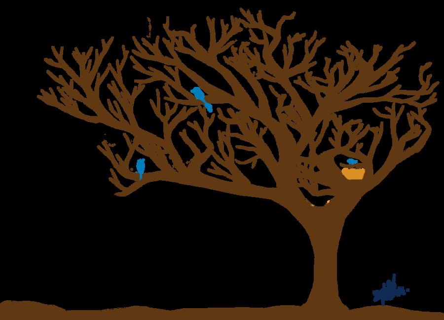 Tree~ Bird [Photoshop] by MaYela98
