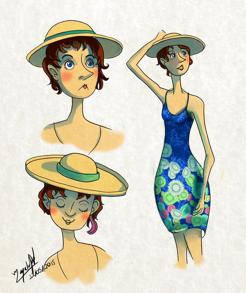 Natalia L~ MangaStudio 5 by MaYela98