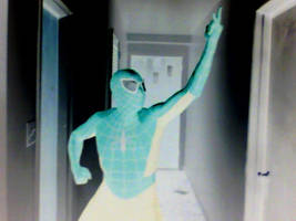 Myself as Spidey with computer effect