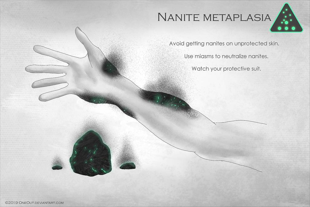 Disease: nanite metaplasia