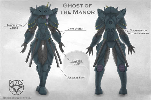 Concept art: Ghost of the Manor