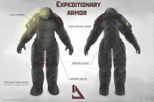 Concept art: Expeditionary armor