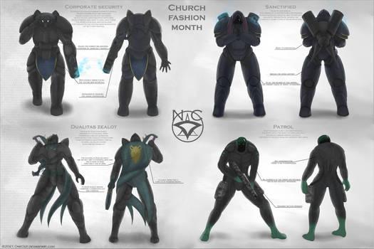 Church fashion month