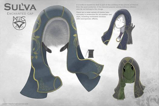 Concept art: ethnic headdress