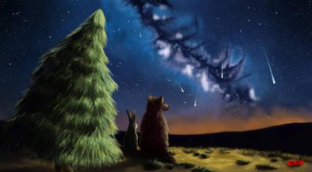 The night. Friendship story